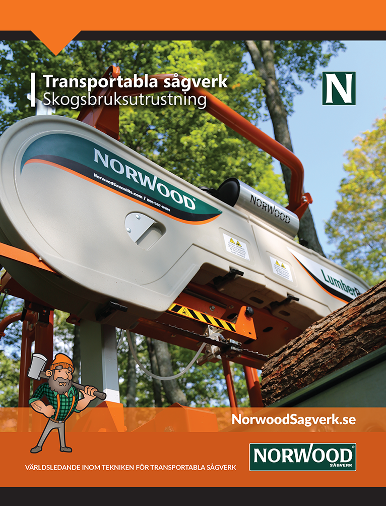 Norwood Transportabla sågverk